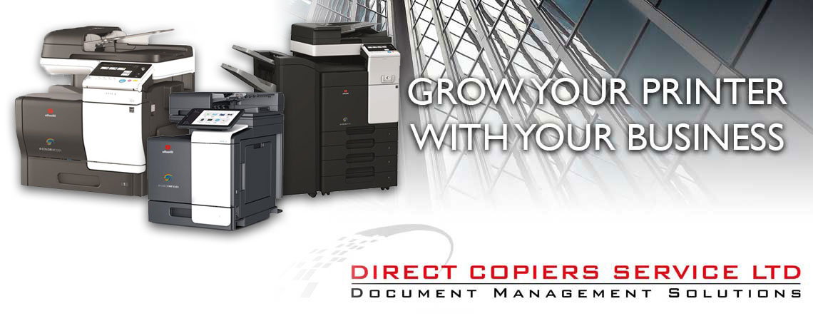 Direct Copiers Photocopiers and Printers to scale to your business
