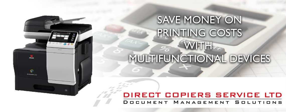 Direct Copiers Save Money when Printing and Copying
